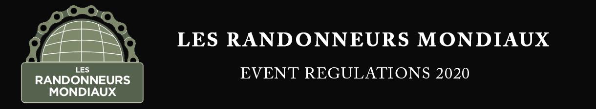 EVENT REGULATIONS