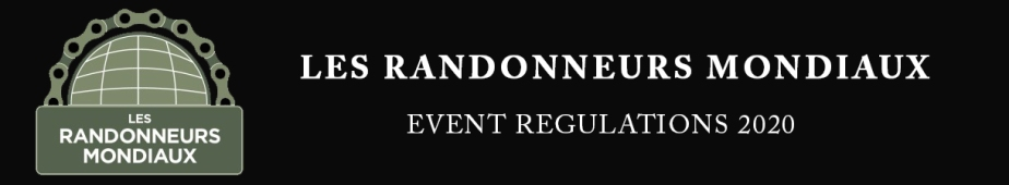 EVENT REGULATIONS